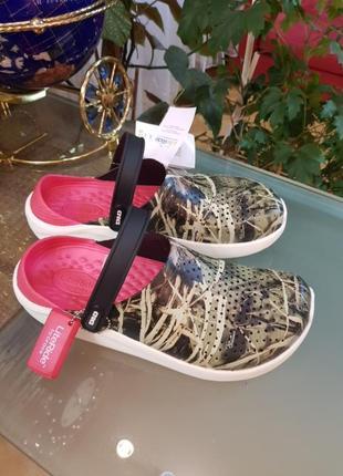 Crocs literide m11 новые с биркой