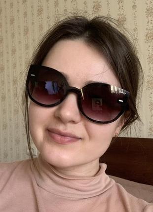 Солнцезащитные очки dior кошки
