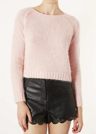 Укороченный свитер-травка topshop