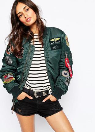 Ультрамодная куртка бомбер, новая, весна, осень, ci sono, оригинал размер s, m,l