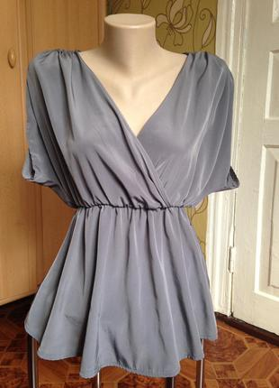 Элегантная женственная блуза  h&m в идеале хс-с