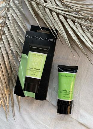 Праймер для лица база под макияж зеленый сша