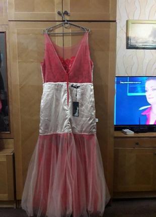 Ever pretty р.18  шикарное вечернее кружевное платье для особых  случаев8 фото