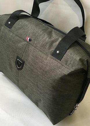 Женская сумка из плотной ткани, спортивная повседневная сумка