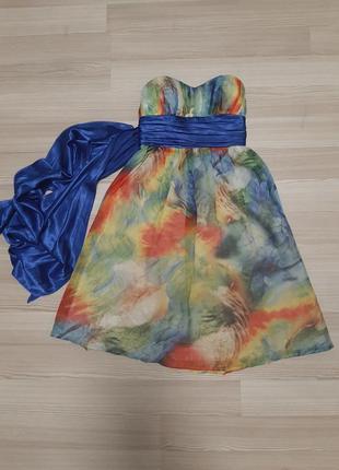 Коктейльное платья