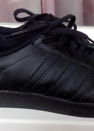 Стильные кожаные кроссовки adidas superstar(original).