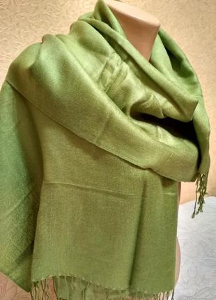 Палантин  шарф, шаль  185 х 70 шелк