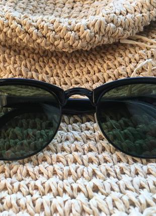 Очки солнце защитные, бутылочный цвет