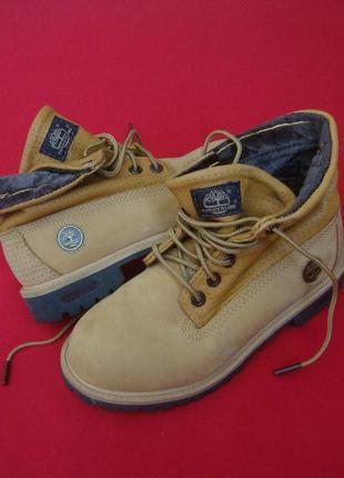 Ботинки timberland оригинал 33 размер
