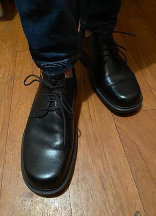 Кожаные туфли ессо.