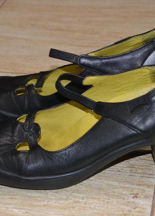 Camper 37р туфли  кожаные. оригинал.