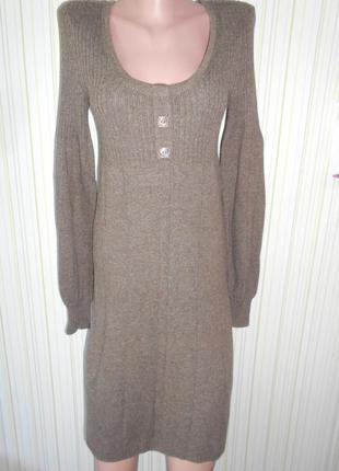 #теплое вязаное платье# clockhouse#германия оригинал #