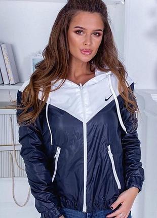 Новая женская демисезонная куртка ветровка весна лето акция