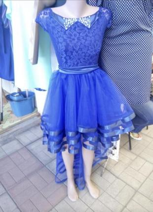 Вечернее ,выпускное платье ,синее платье