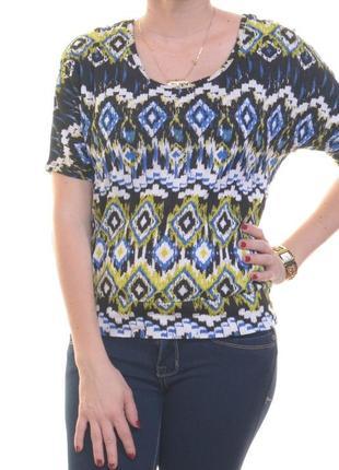Брендовый топ футболка с вырезом на спинке, низ на усиленной планке xs,s4 фото