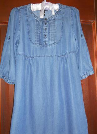 #джинсовое платье оверсайз # h&m#джинсовая туника # турция
