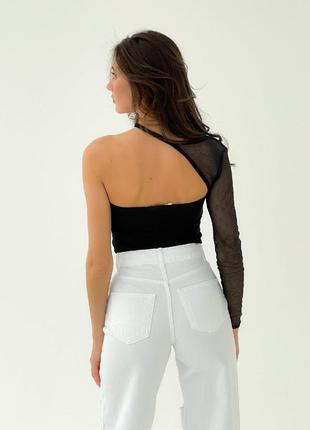 Белые джинсы палаццо, момы. распродажа.4 фото