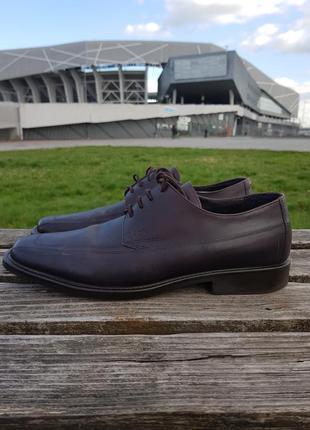 Geox туфлі чоловічі оригінал з європи ботинки мужские