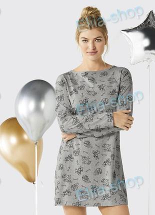 Красивое домашнее платье с длинным рукавом,ночная рубашка от disney