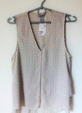 Стильная блуза h&m новая!