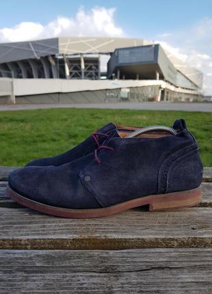 Tommy hilfiger туфлі чоловічі оригінал з європи ботинки мужские