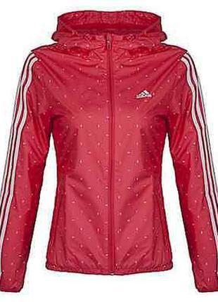 Adidas куртка / ветровка en aop wb  ay4043, размер s, оригинал, sample