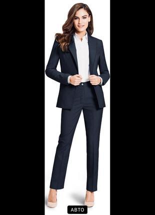 Dolzer классический брючный костюм пиджак брюки м l