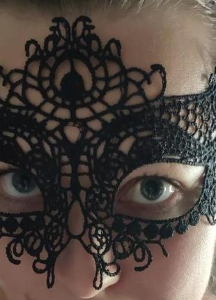 Карновальная ажурная маска