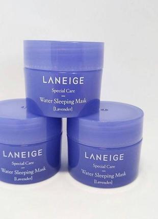 Ночная маска для лица c экстрактом лаванды laneige water sleeping mask [lavender]