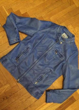 Легкая  куртка,бомбер экокожа,gmbh & co. kg,s.oliver