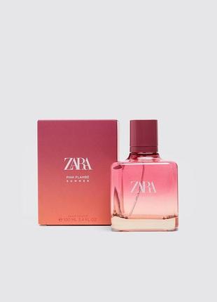 Zara pink flambé літо