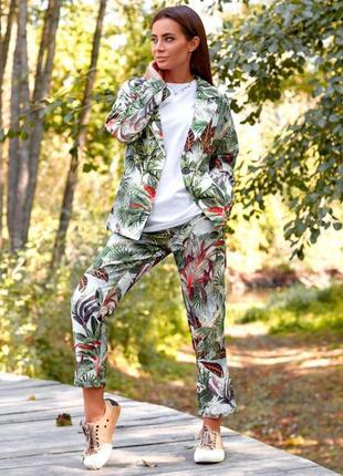 Повсякденний літній костюм (трійка) - стиль casual