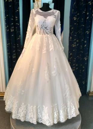 """Свадебное платье """"сердце"""""""
