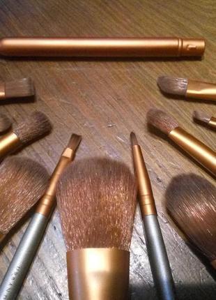 Профессиональный набор кистей для нанесения макияжа лица от urban decay naked 3.