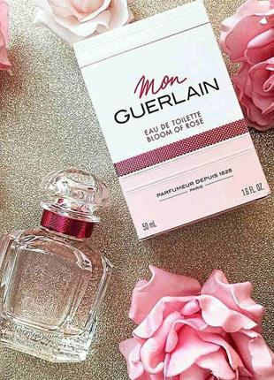 Guerlain mon guerlain bloom of rose оригинал  2 мл