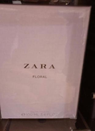 Очень классный аромат floral zara