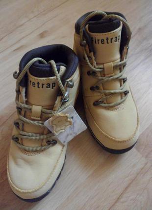 Ботинки firetrap, оригинал, кожа. размер 32