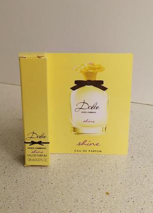 Парфюмированная вода  женская (пробник) dolce&gabbana dolce shine