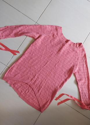 Нежный свитерок из нежной нити