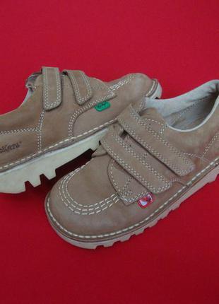 Ботинки kickers с ортопедической стелькой натур кожа 29 размер1
