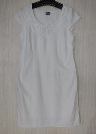 Хлопковое  белое платье , біле платя плаття grace
