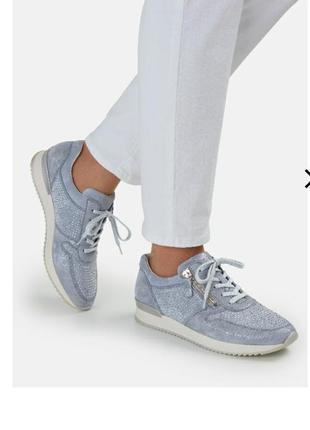 Оригинальные замшевые кросовки gabor