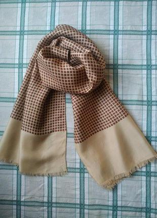 Красивый мужской шарф