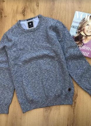 Красивый свитер шерсть-хлопок