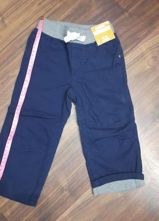 Штаны для мальчика 18-24 м gymboree c хлопковой подкладкой