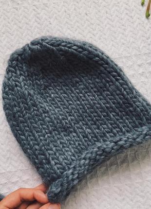 Вязаная шапка atmosphere