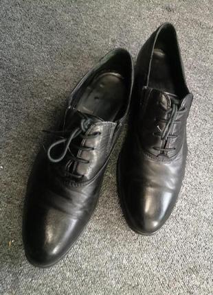 Женские кожаные туфли carlo pazolini