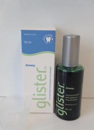 Концентрированная жидкость для полоскания полости рта glister,amway
