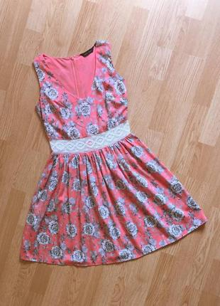 Легка сукня в квіти new look. цветочное платье