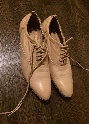 Кожаные туфли италия оригинал